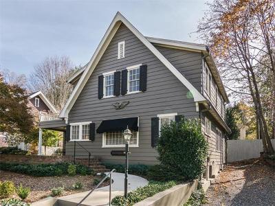 Asheville Single Family Home For Sale: 1 Evergreen Lane