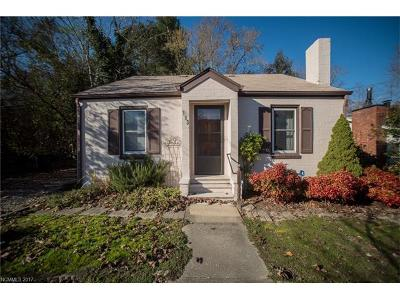 Black Mountain Single Family Home Under Contract-Show: 113 Vance Avenue