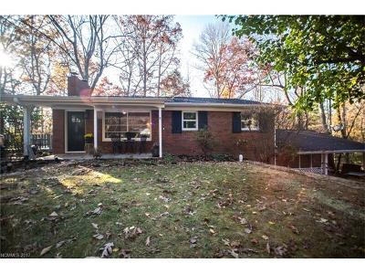 Black Mountain Single Family Home Under Contract-Show: 117 Holly Avenue