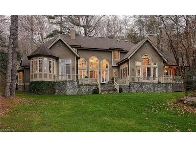 Lake Toxaway Single Family Home For Sale: 27 Cardinal Drive E #M-19