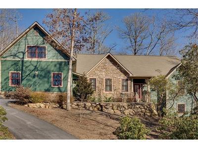 Transylvania County Single Family Home For Sale: 87 Enolah Court #lot 31/u