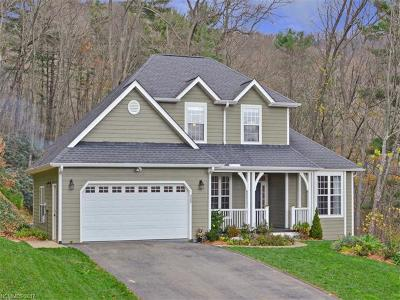 Asheville Single Family Home For Sale: 48 Huntington Chase Drive