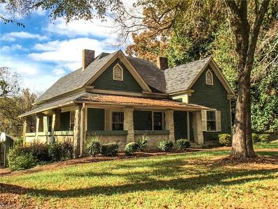 Rutherfordton Single Family Home For Sale: 395 N Washington Street