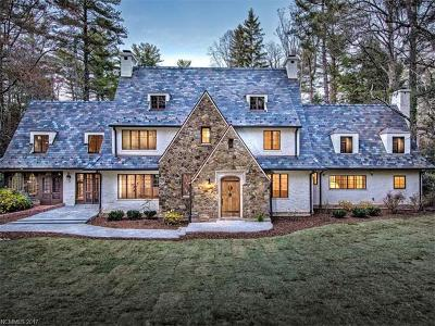 Biltmore Forest Single Family Home For Sale: 31 Hilltop Road