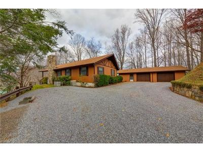 Waynesville Single Family Home For Sale: 626 Spirit Mountain Trail #Lot 20 &