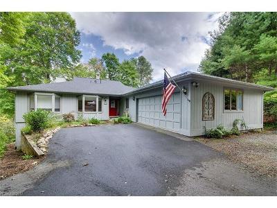 Transylvania County Single Family Home For Sale: 12 Guwa Court #Unit 12,