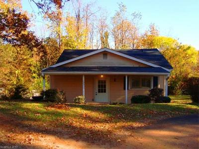 Tryon NC Single Family Home For Sale: $98,000