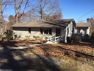 Tryon Single Family Home Under Contract-Show: 211 Woodland Road