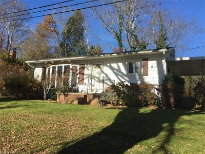 Asheville Single Family Home For Sale: 124 Concord Road