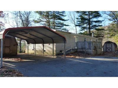 Transylvania County Manufactured Home For Sale: 5 Gobblers Knob