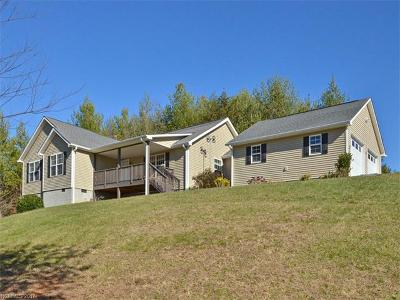 Weaverville Single Family Home Under Contract-Show: 406 Macbeth Street
