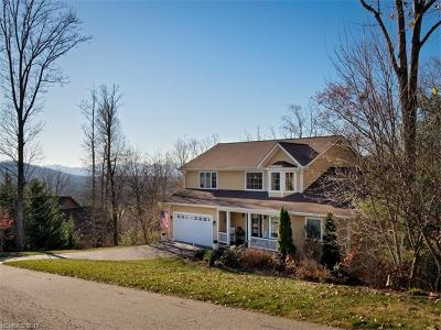Weaverville Single Family Home For Sale: 60 Courseview Drive
