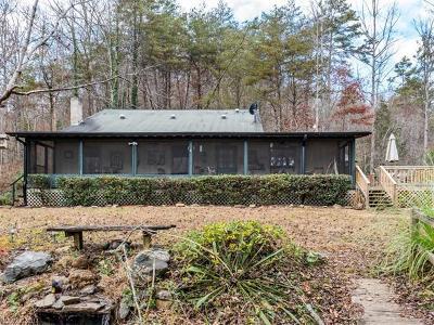Rutherfordton Single Family Home For Sale: 742 Calhoun Trail