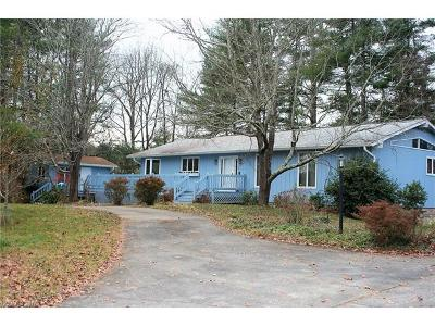 Weaverville Single Family Home Under Contract-Show: 9 Tracy Lane
