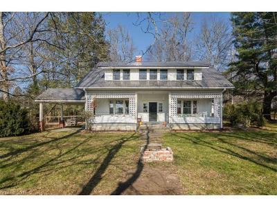 Pisgah Forest Single Family Home For Sale: 5285 Old Hendersonville Highway