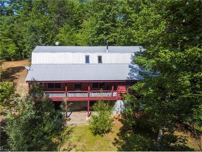 Weaverville Single Family Home For Sale: 57 Sun Dog Drive #Lot A