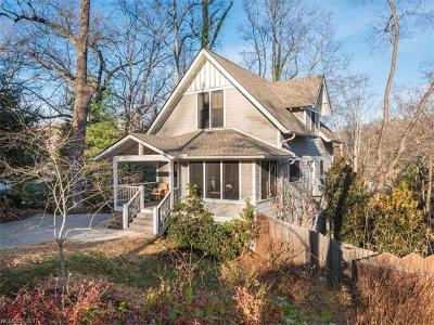 Asheville Single Family Home For Sale: 22 Montview Drive