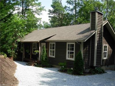 Transylvania County Single Family Home For Sale: 100 Squirrel Lane #75