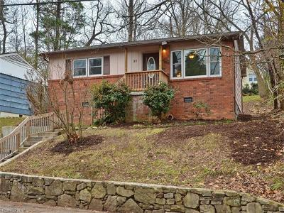 Asheville NC Single Family Home Under Contract-Show: $250,000