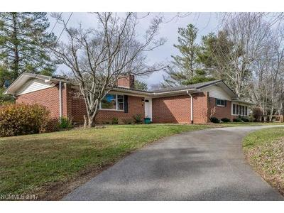Hendersonville Single Family Home Under Contract-Show: 749 Price Road