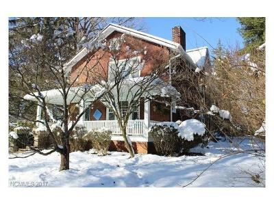Asheville Single Family Home For Sale: 86 Raleigh Road