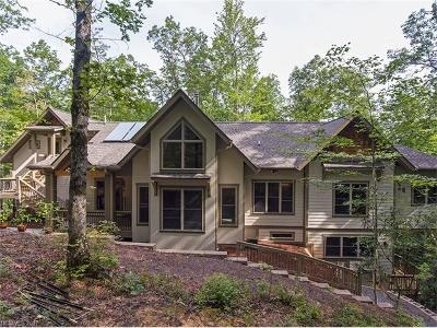 Brevard Single Family Home For Sale: 829 Kelly Mountain Road