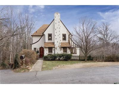 Asheville Single Family Home For Sale: 23 Normandy Road