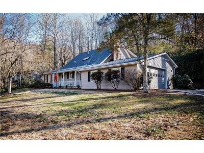 Pisgah Forest Single Family Home Under Contract-Show: 1134 Glen Cannon Drive