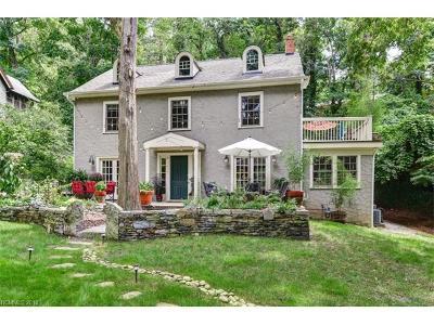 Asheville Single Family Home For Sale: 16 Cherokee Road