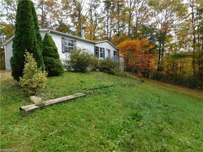 Transylvania County Manufactured Home For Sale: 2984 Flat Creek Valley Road