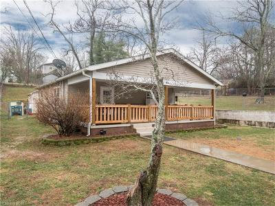 Asheville NC Single Family Home For Sale: $249,995