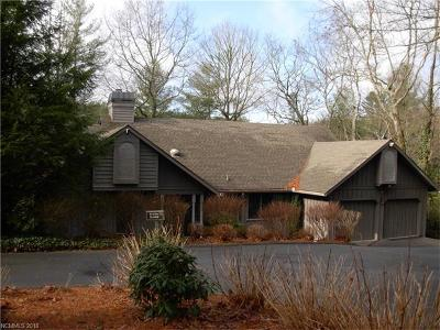 Transylvania County Single Family Home For Sale: 77 Horseshoe Drive S