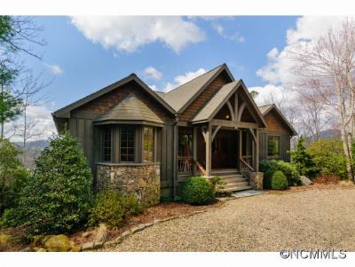 Transylvania County Single Family Home For Sale: 601 Hawk Mountain Road #26, 1/2