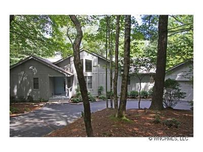 Transylvania County Single Family Home For Sale: 522 Toxaway Court #45REV