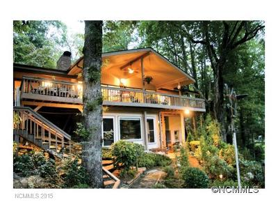Lake Toxaway Single Family Home Under Contract-Show: 193 Island Point Road