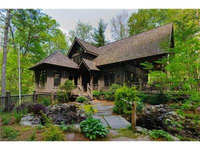 Lake Toxaway Single Family Home For Sale: 4067 West Club Blvd #23R