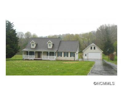 Buncombe County Single Family Home For Sale: 1357 Upper Brush Creek Road