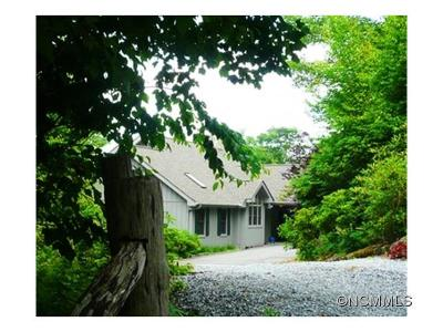 Lake Toxaway Single Family Home Under Contract-Show: 351 Summit Ridge Road