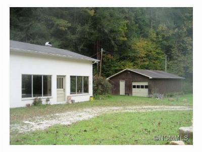 Marshall Single Family Home For Sale: 7212 Nc 208 Highway