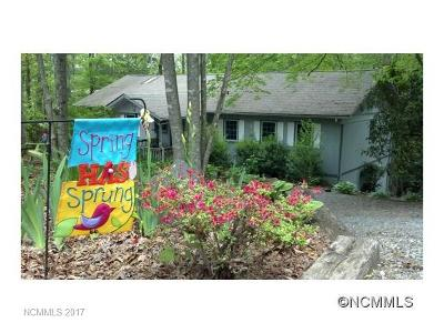 Pisgah Forest Single Family Home For Sale: 48 Oak Ridge Rd