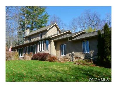 Lake Toxaway Single Family Home For Sale: 996 Cold Mountain Road