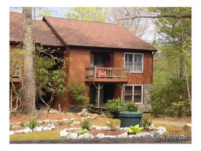 Transylvania County Condo/Townhouse For Sale: 43 Toxaway Views Drive #104