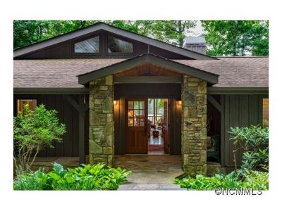 Lake Toxaway Single Family Home For Sale: 39 Cardinal Drive