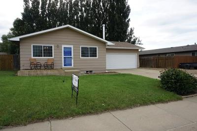 Dickinson Single Family Home For Sale: 712 4th Ave SE