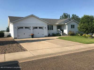 Dickinson Single Family Home For Sale: 929 19th St East