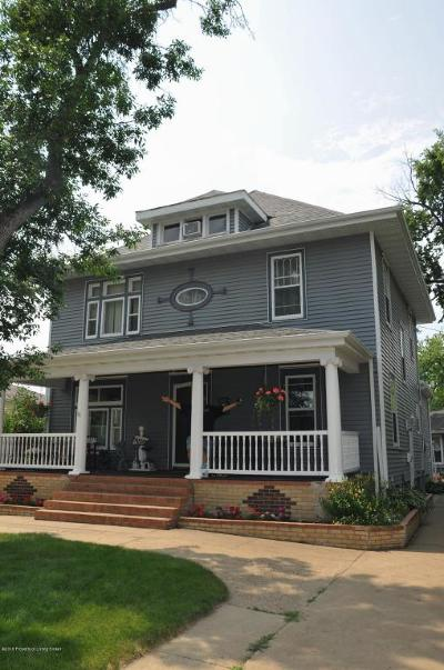 Dickinson Single Family Home For Sale: 109 6th Ave W
