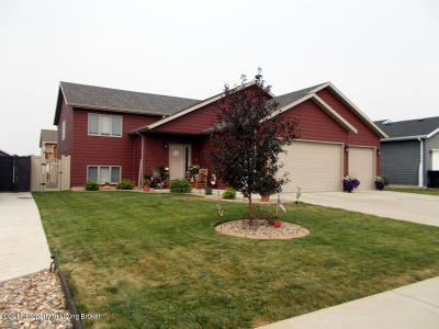 Dickinson Single Family Home Ros Contingency - Yes: 641 17th Ave E