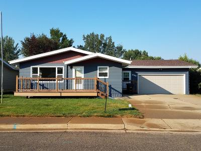 Dickinson Single Family Home For Sale: 648 Custer