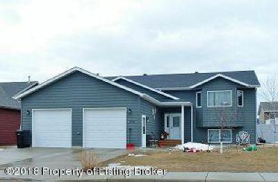 Dickinson Single Family Home For Sale: 673 17th E