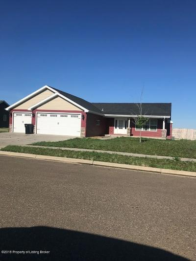 Dickinson Single Family Home For Sale: 3137 12th W
